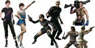 Resident Evil 0 HD Remaster Unlockable Costumes
