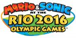 Mario & Sonic at the Rio Olympic Games logo