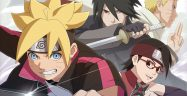 Ultimate Ninja Storm 4 'Road to Boruto'Key Visual